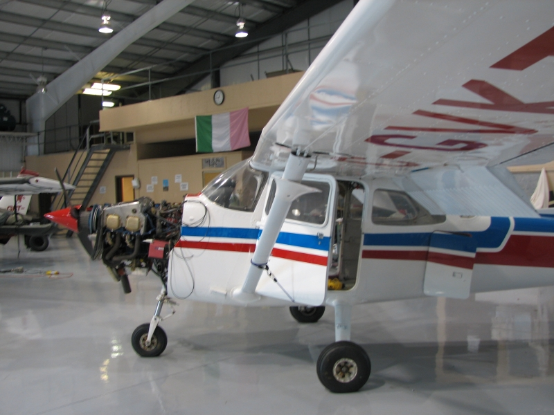 Plane in our hangar