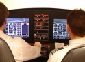 Using a Flight Training Device, often referred to as a flight simulator, allows GFT to train students in realistic emergency situations while safely seated on the ground