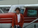 Matthew Lane, participant in 2003 Summer Wings Program, is Newfoundland and Labrador's youngest solo pilot at age 14